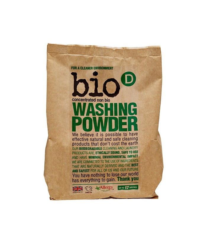 Bio-D Skoncentrowany, hipoalergiczny, niebiologiczny proszek do prania 1kg