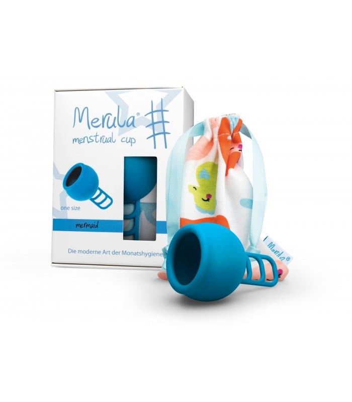 Marula Uniwersalny kubeczek menstruacyjny niebieski - one-size