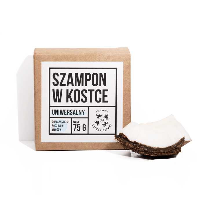 Mydlarnia Cztery Szpaki Naturalny szampon do włosów 75g